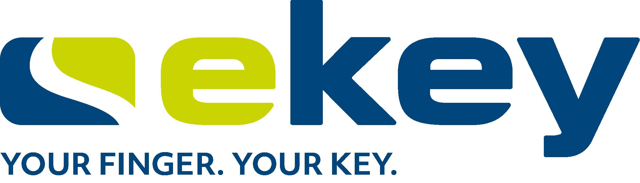 Logo Ekey, Partner des FH OÖ Studiengangs Hardware-Software-Design in dualer Form